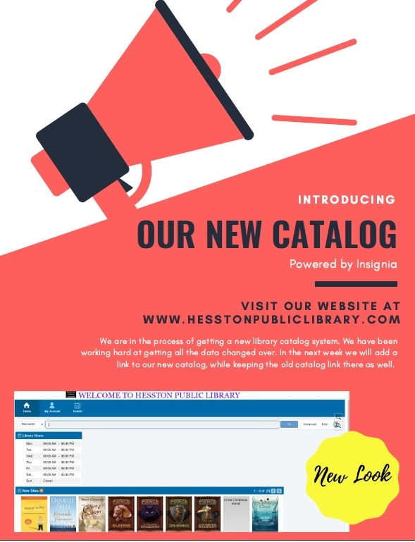 New link for catalog and accounts!