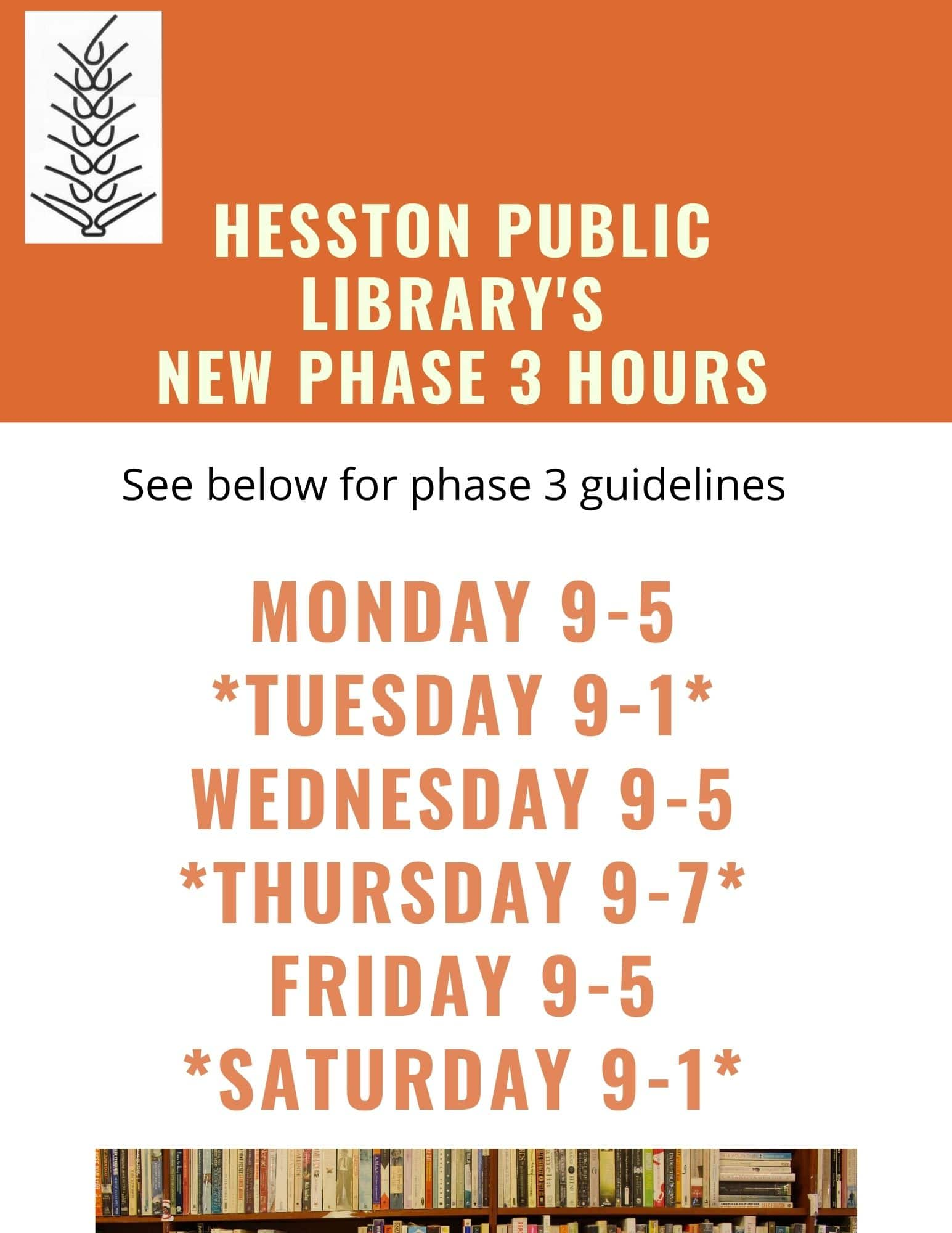 PHASE 3 WITH NEW HOURS